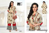 Ladies Kurti with Plazzo