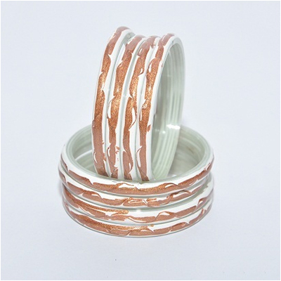 Ladies Glass Bangle