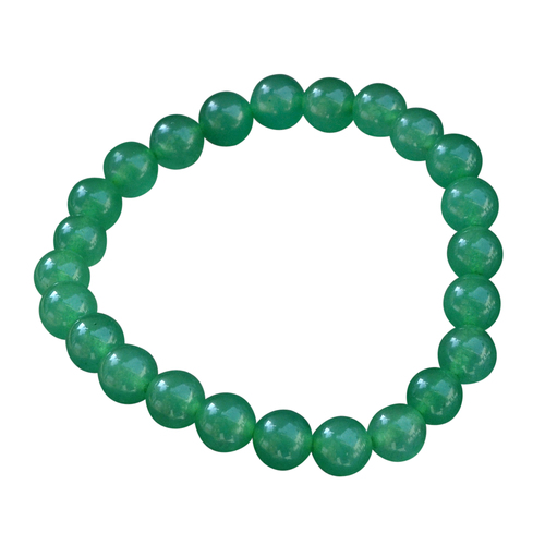8 mm Round Beads Jaipur Rajasthan India Green Onyx Stretchable Layering Bracelet Handmade Jewelry Manufacturer