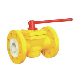 PFA-FEP Lined Ball Valve