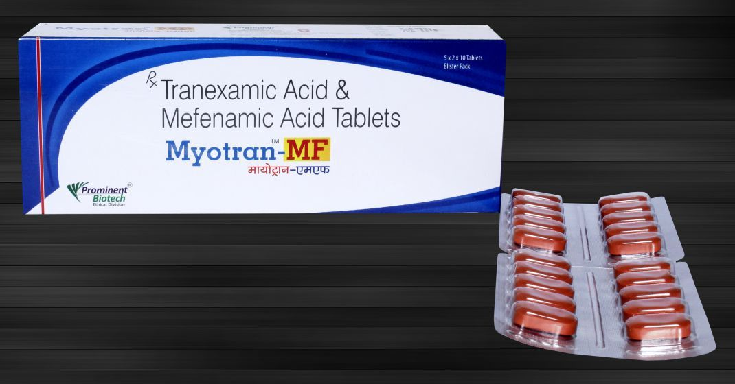 Tranexamic Acid 500 Mg & Mefenamic Acid 250 Mg Tablets