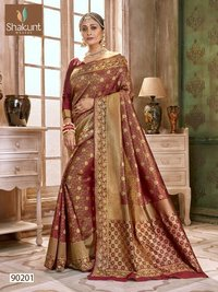 Festive Wear Art Silk Saree