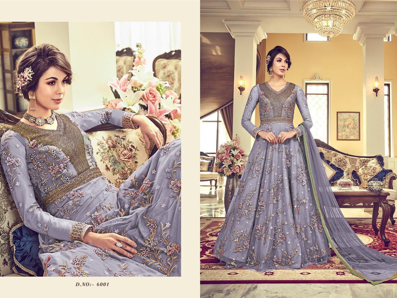 Heavy Designer Anarkali Suit, Traditional Wear