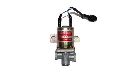 Hyundai Bus and Truck Magnetic Valve (2 WAY - NEW TYPE) 24V 0.8A (P/N : 59670-7B000)