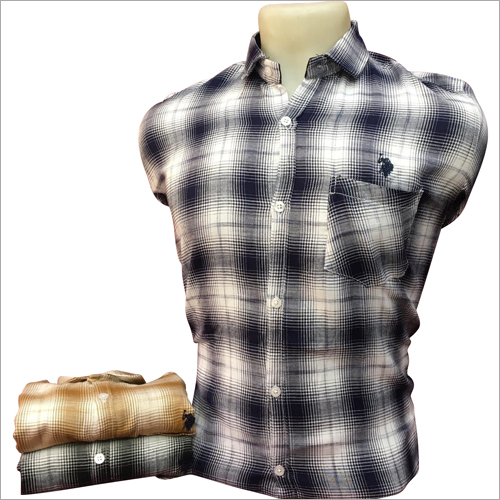 Mens Stylish Check Shirt