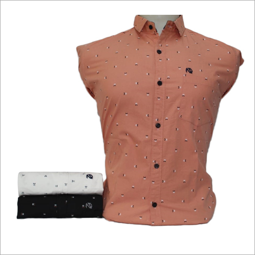 Mens Flower Printed Shirt