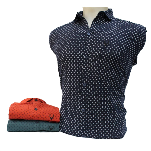 Mens Formal Printed Shirt