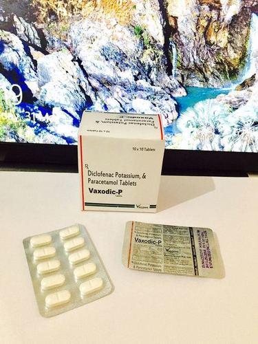 Diclofenac Potassium  Paracetamol TABLETS