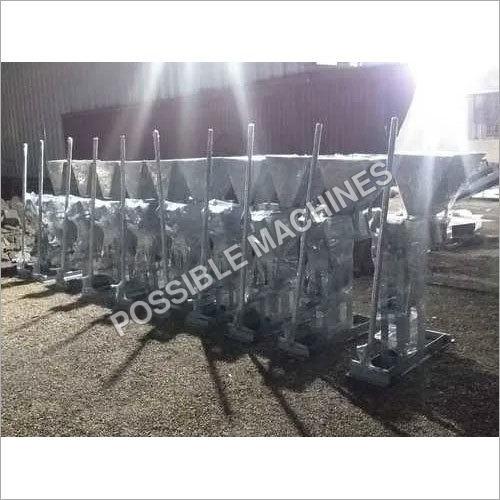 Manual Interlocking Hollow Block Making Machine