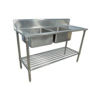Double Bowl Kitchen Sink Unit