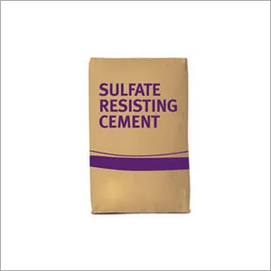 ISI Certificataion Sulphate Resisting Portland Cement