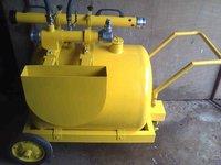 Foam Trolley With Aqua Foam Monitor