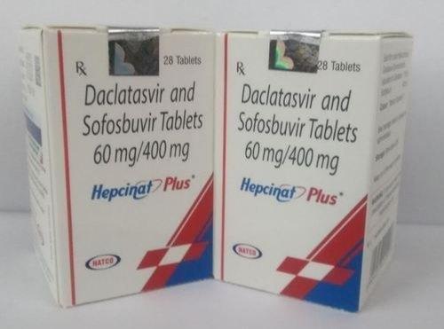 Hepcinat Plus 60mg/400mg Tablets
