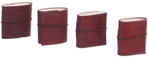 Pocket Diaries In Set of 4 with Leather Cover in Bulk