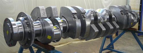 Marine Engine crankshaft