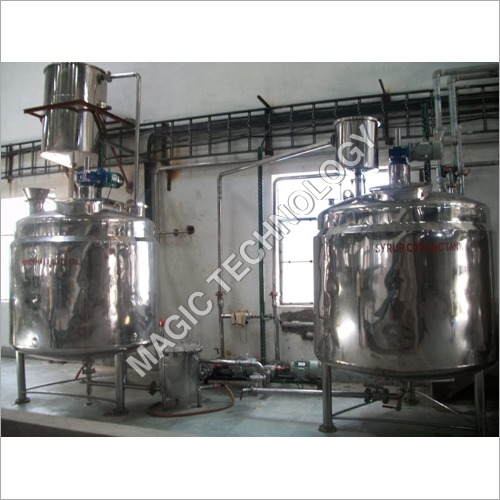 Industrial Sugar Syrup Making Machine