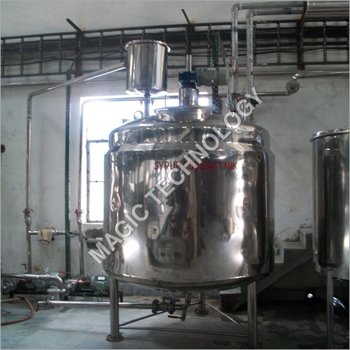 Syrup Cooling Tank