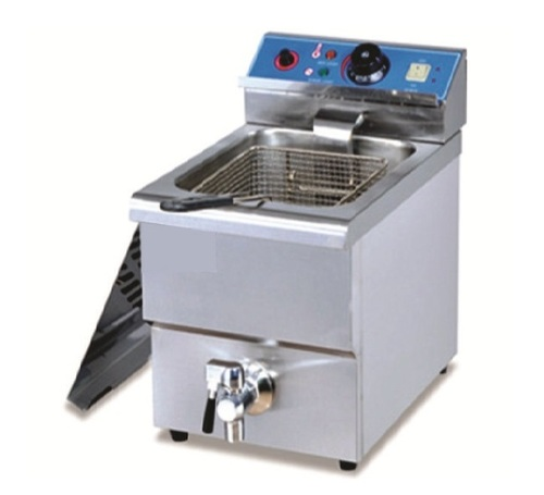 Electric Fryer With Tap