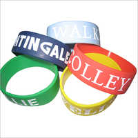 Custom Printed Silicone Wristband