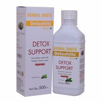 Herbal Syrup for Detoxification of Body - Detoxhills Shots (Pack of 2)