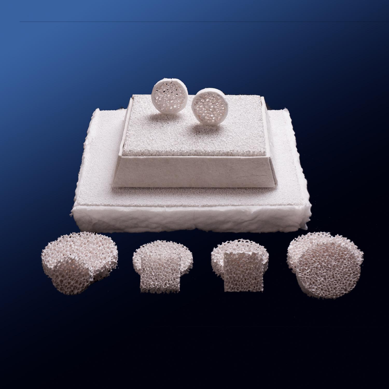 Industrial Casting Alumina Porous Foam Ceramic Foam Filter
