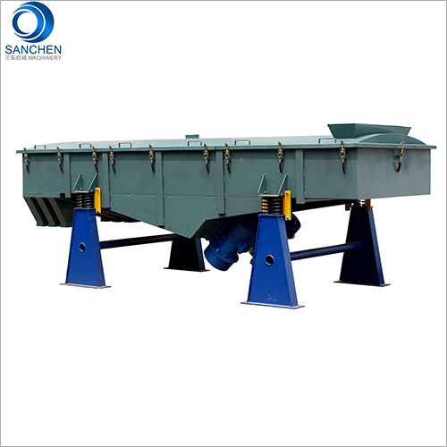 Silica Sand Vibrating Sieve Machine