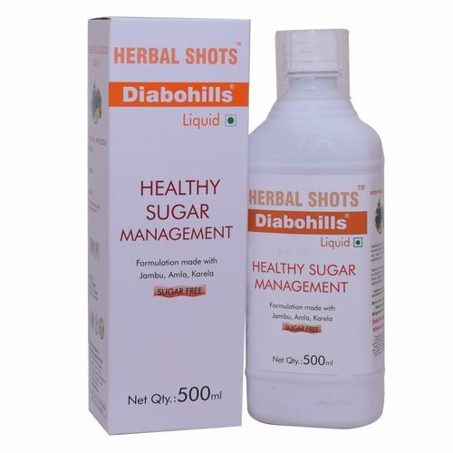 Ayurvedic Syrup for Diabetes - Diabohills