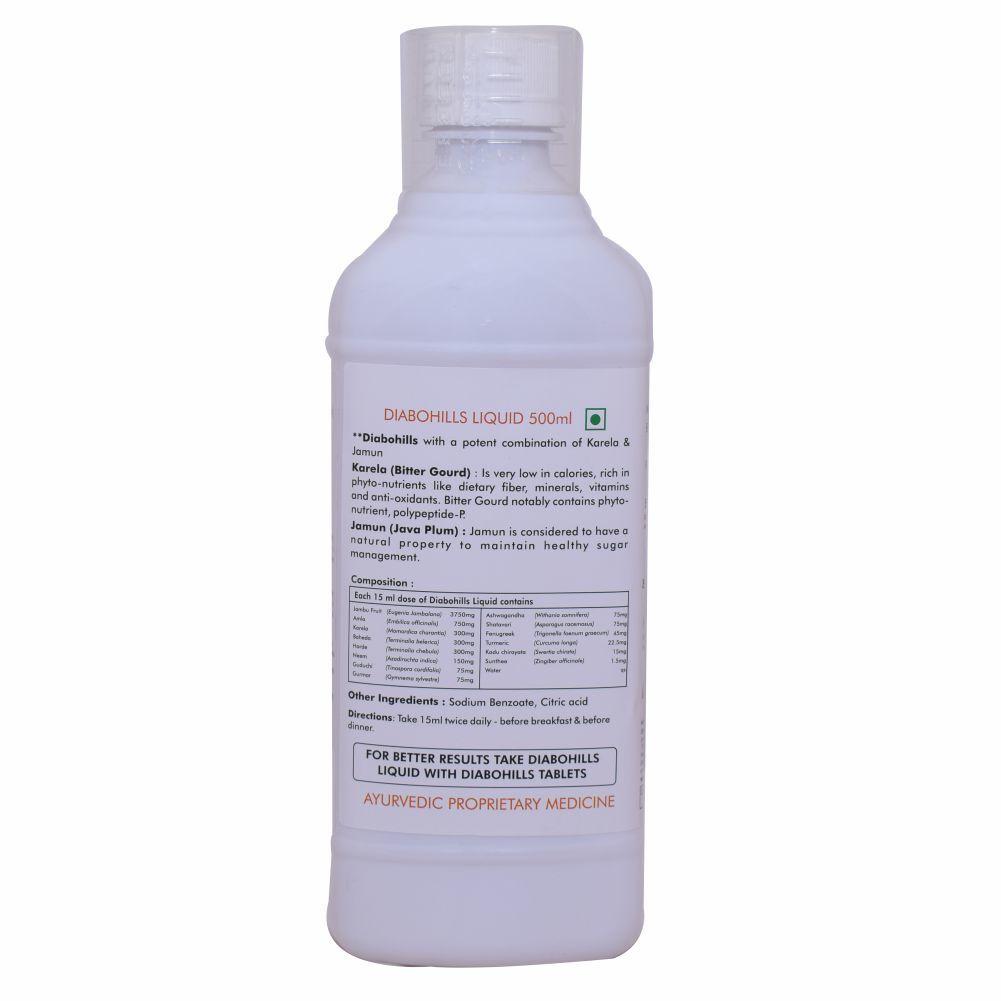 Ayurvedic Syrup for Diabetes - Diabohills