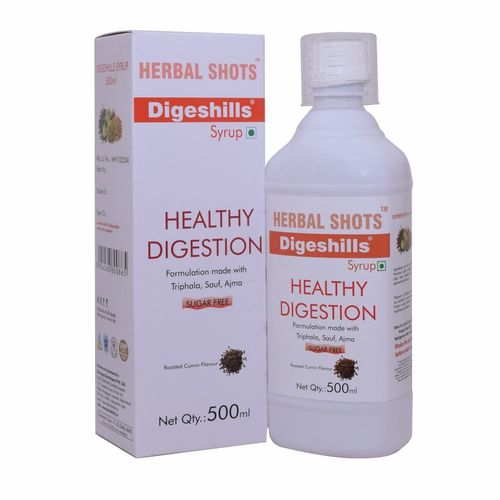 Herbal Digestive Syrup for Healthy Digestion - Digeshills Shots
