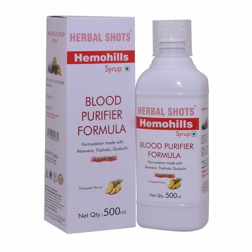 Herbal Syrup for Blood Purification - Hemohills Shots (pack of 2)