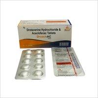 DROTAVERINE HYDROCHLORIDE & ACECLOFENAC TAB