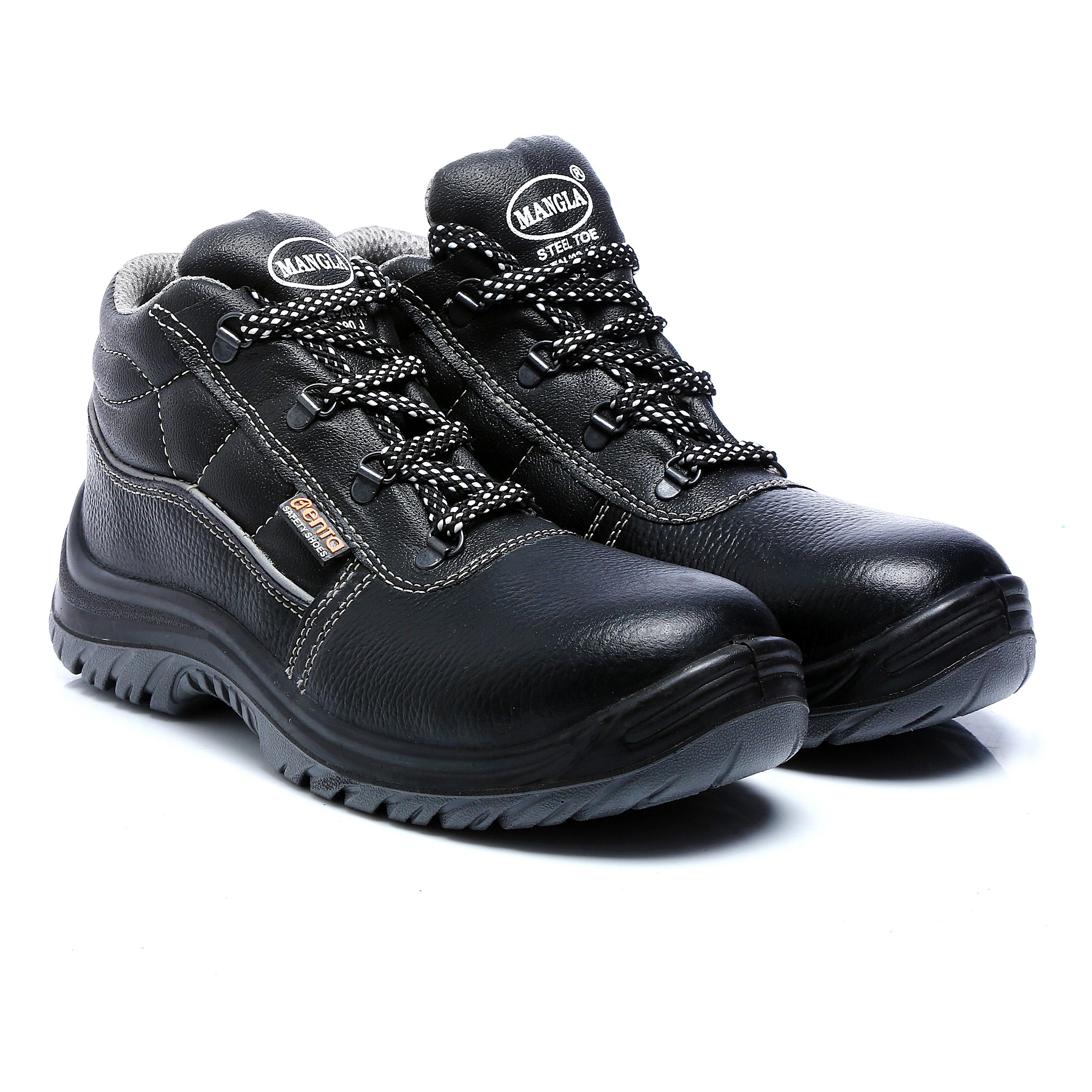 Plastic Toe Cap Safety Shoes