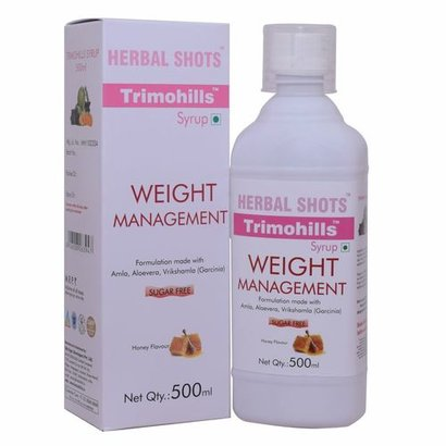 Herbal Weightloss Syrup - Trimohills (Pack Of 2) Certifications: Iso