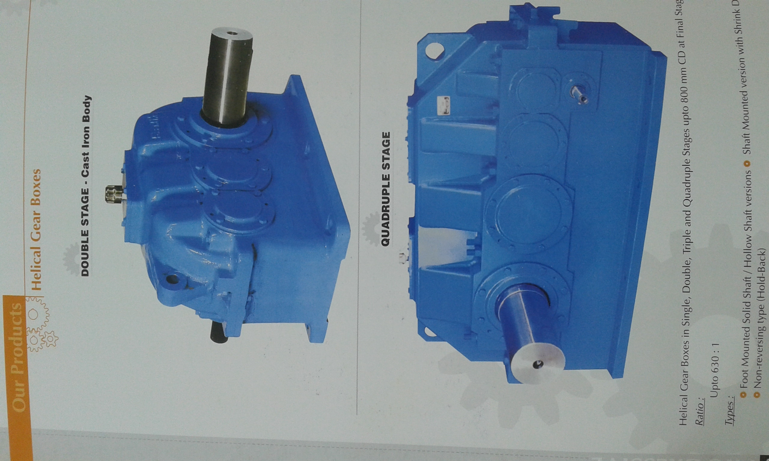 Heavy duty Gearbox