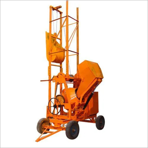 Hydraulic Type Concrete Mixer
