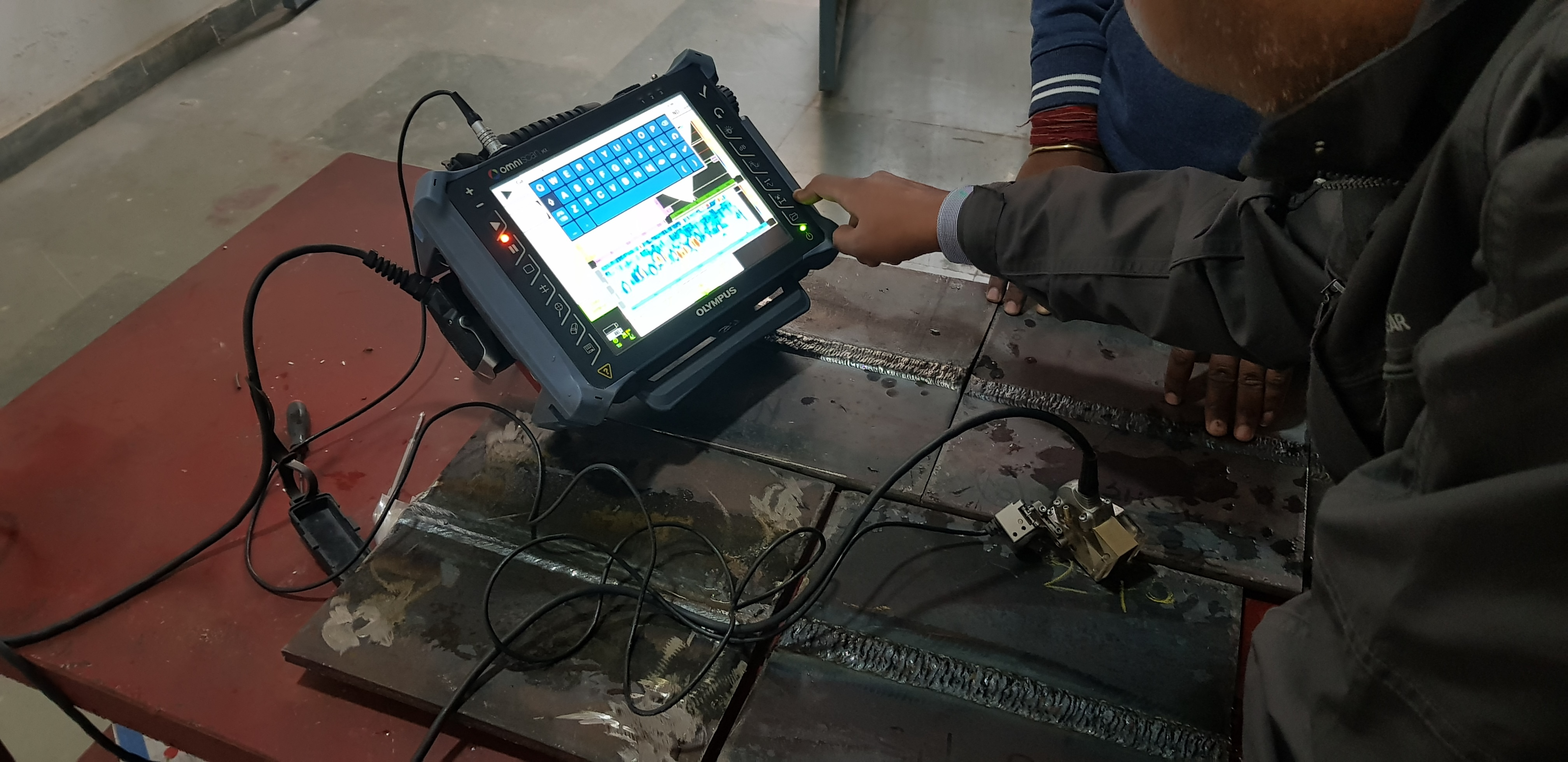 Phased Array Ultrasonic Testing of Boiler Tubes (PAUT)