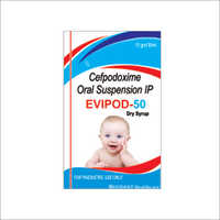 Cefpodoxime Oral Dry Syrup