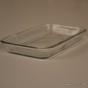 Clear Glass Kitchenware Plates