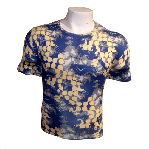 Mens Tie Dye Print T Shirt