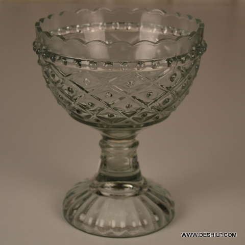 Cutting Glass Ice Cup