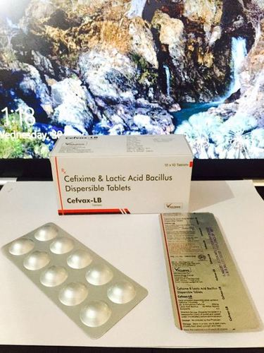 Cefixime Trihydrate  Lactic Acid Bacillus tablets