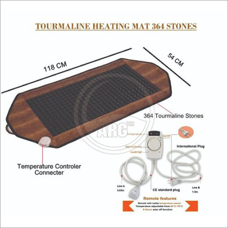 364 Stones Heating Mat