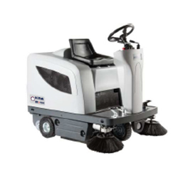 Nilfisk SR1101 Ride  on Sweeper Machine