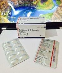 Cefixime trihydrate ofloxacin tablets