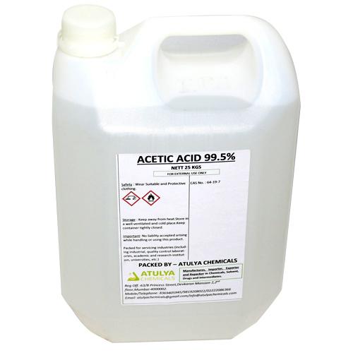 99.5% 25 kg Acetic Acid