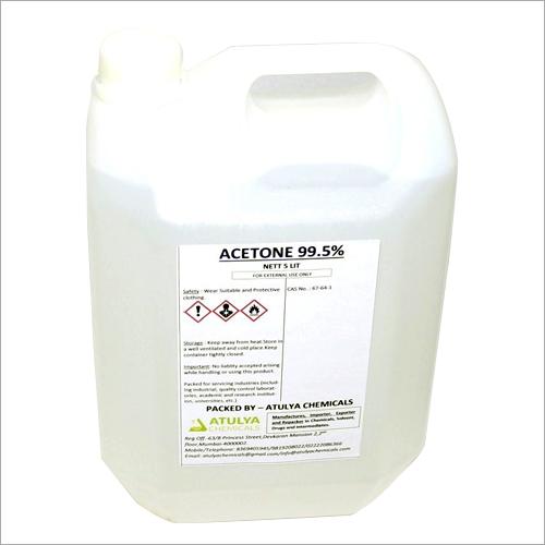 99.5% 5 Ltr Acetone