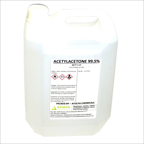 99.5% 5 Ltr Acetylacetone