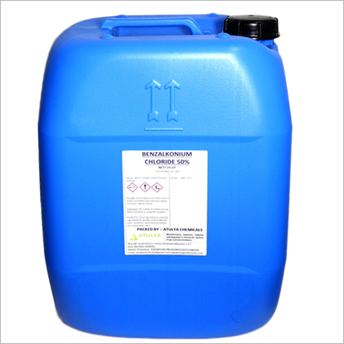 50%  25 Ltr Benzalkonium Chloride