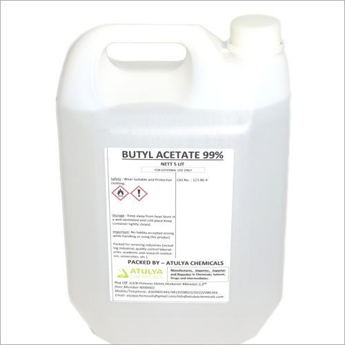 99% 5 Ltr Butyl Acetate