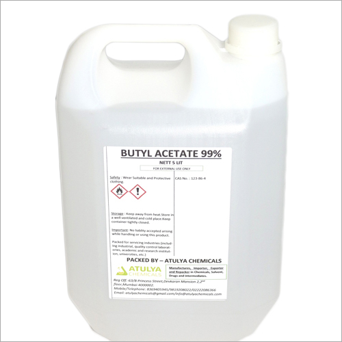99% 5 Ltr Butyl Acetate